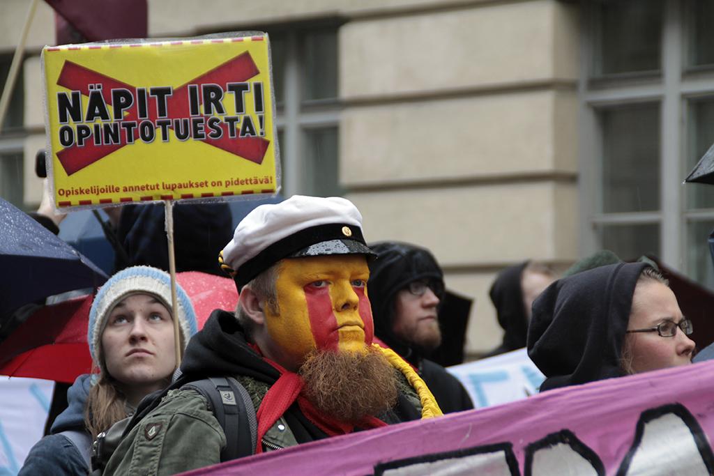 Finlands hamnar stoppade av strejk