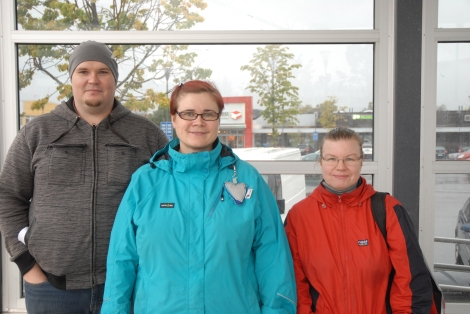 fr v Tervo Juha-Mattia, Johanna Buska, Minna Karhu