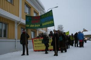 2)Jokkmokkdemonstration