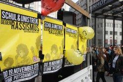 demo MOT utvisningar, Berlin