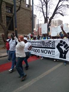 SydAfrika; OMF-marchTshwane12september