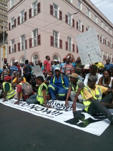 SydAfrika; OMF-marchTshwane12september2